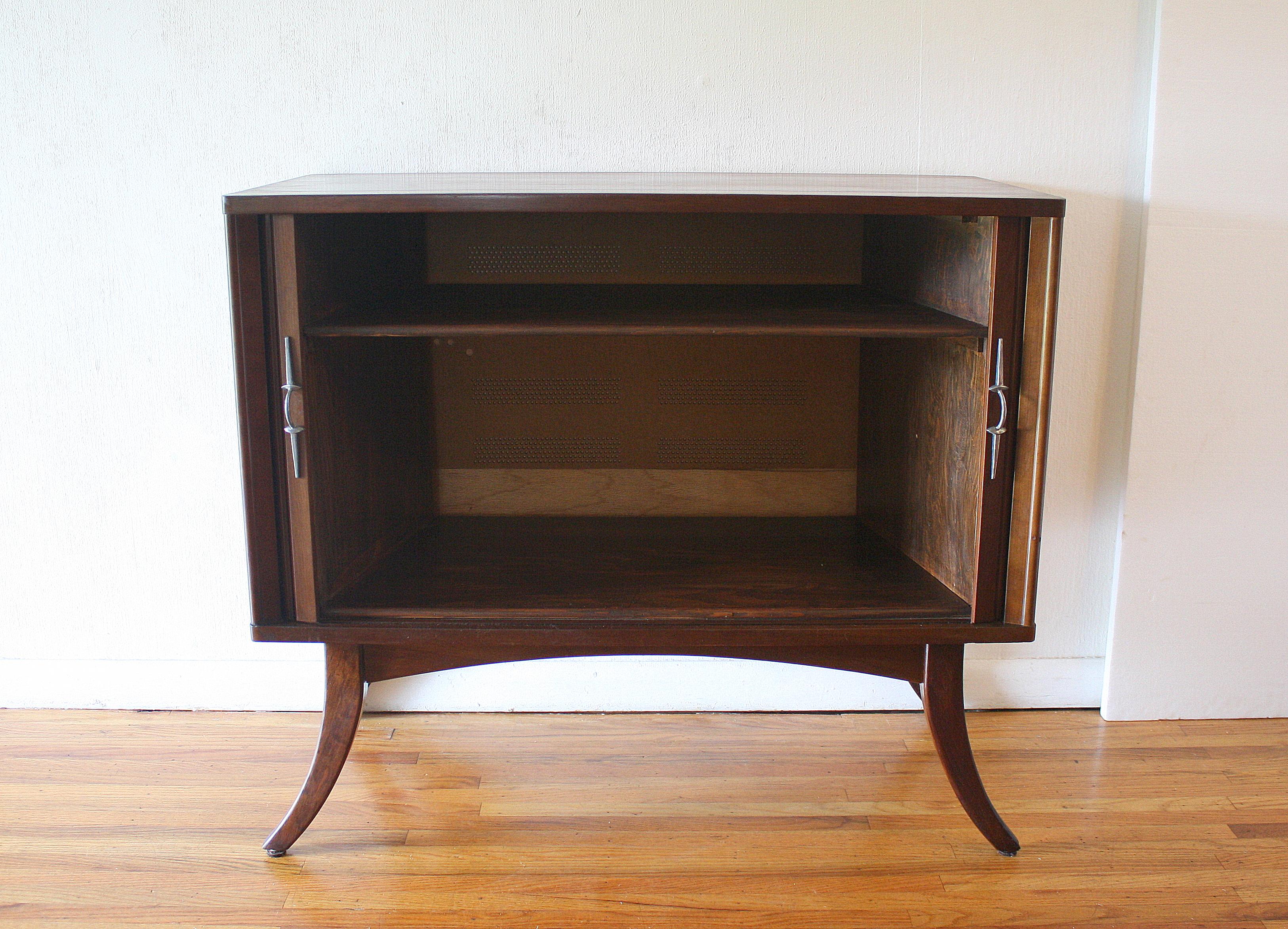 tambour door record cabinet 2
