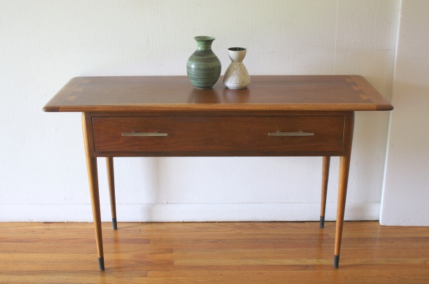 Mid Century Modern Lane Acclaim Console Table Picked Vintage