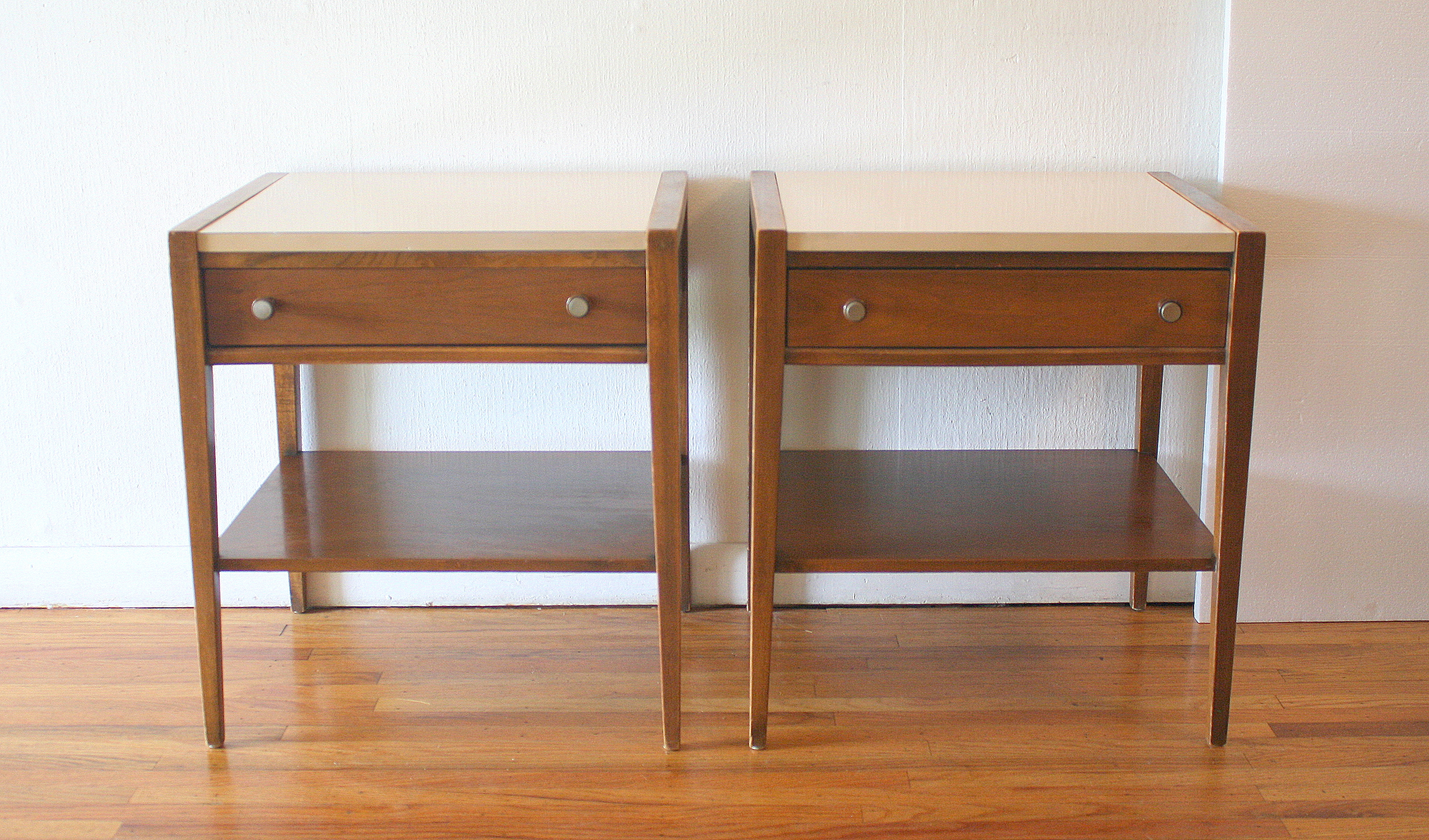 mcm mod white top nightstands 1.JPG