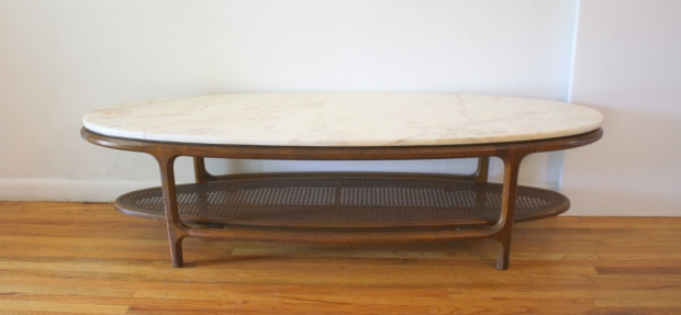 mcm surboard marble top coffee table 1