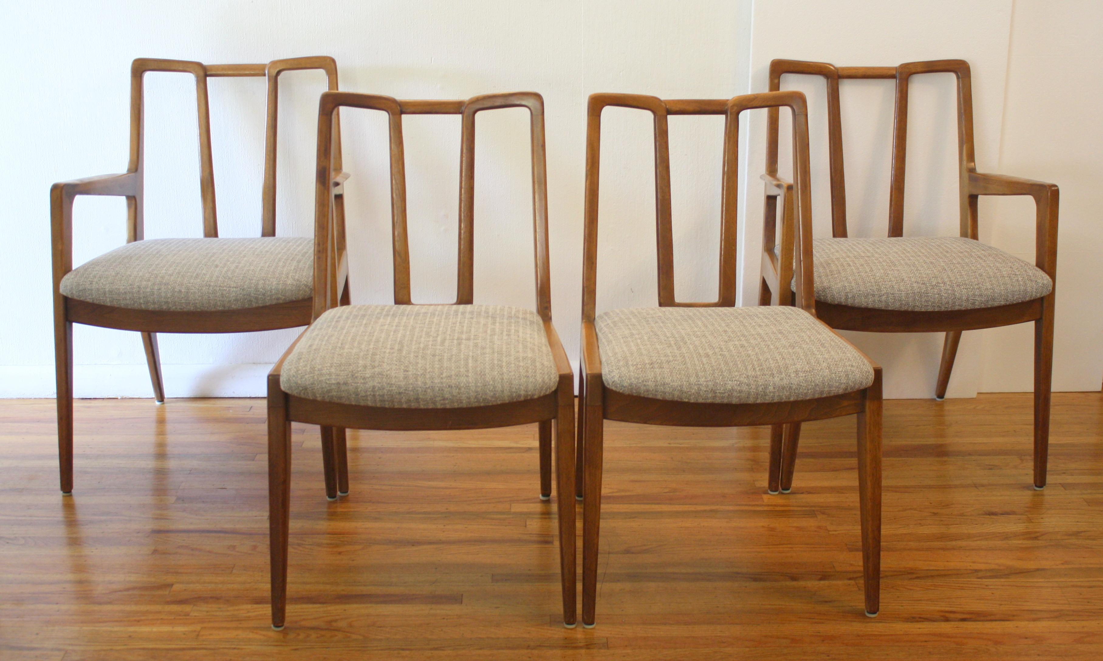 Delightful John Stuart Dining Chairs 1
