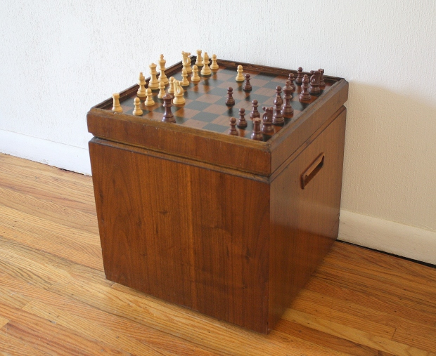 Lane game ottoman 1
