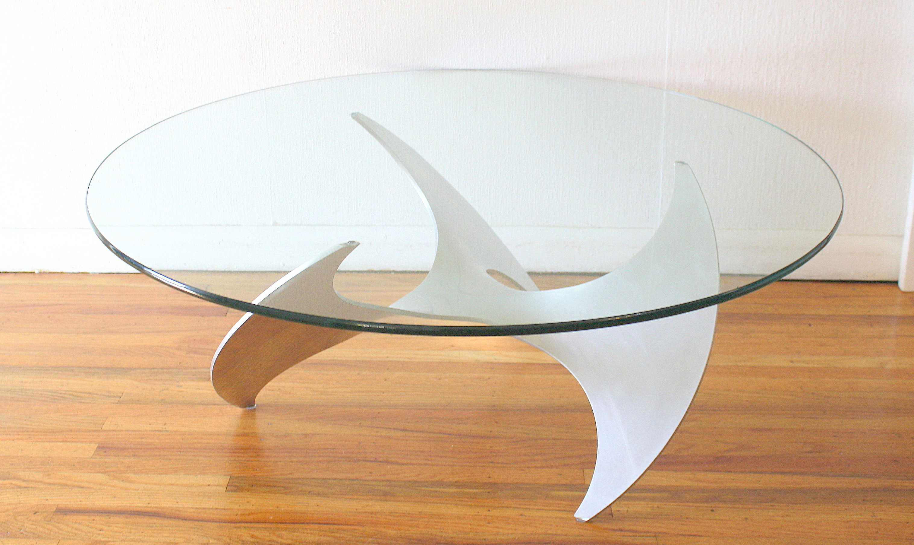 Mid Century Modern Propeller Base Coffee Table Picked