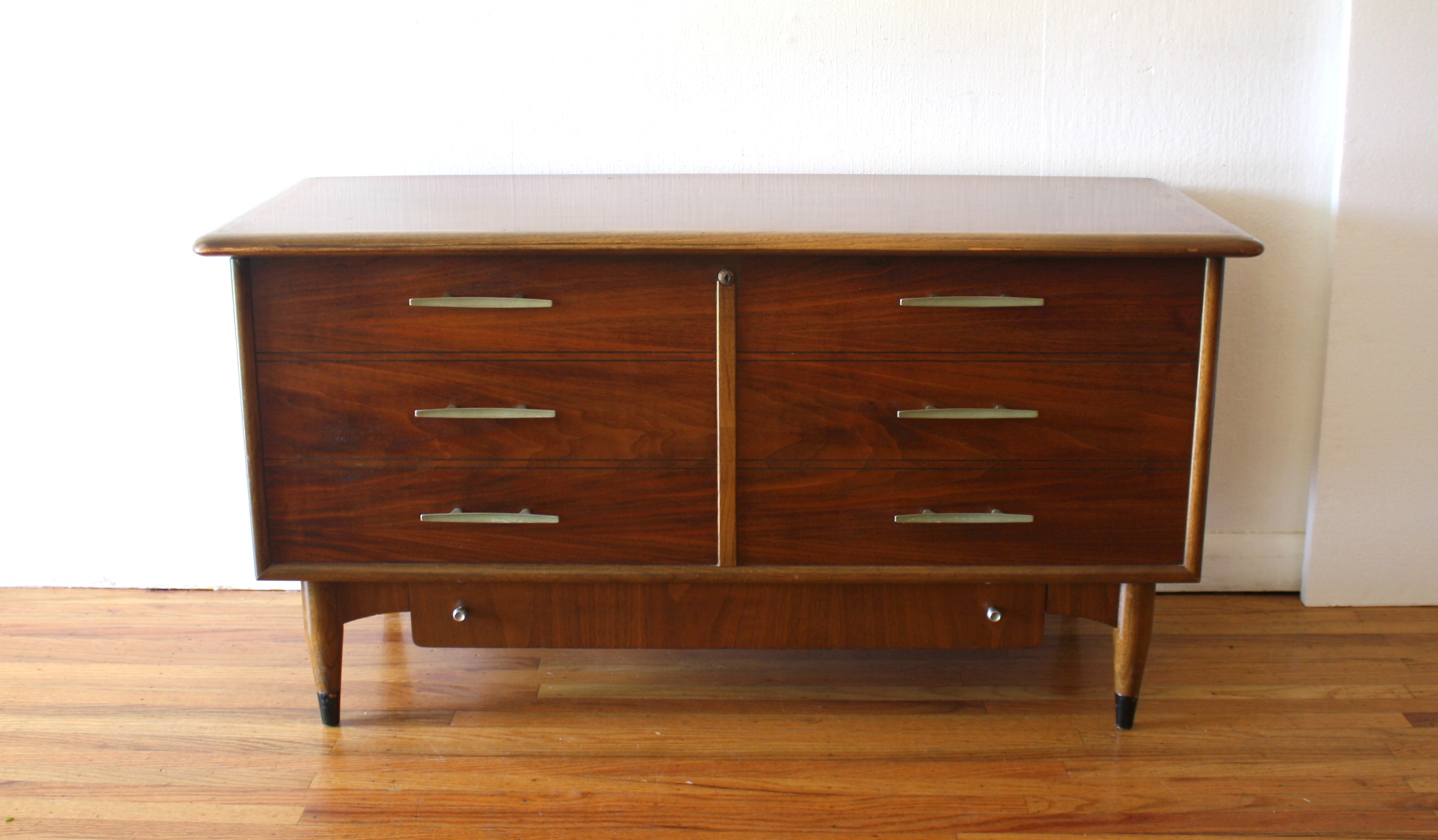 Mid Century Modern Lane Acclaim Cedar Chest Trunk Picked
