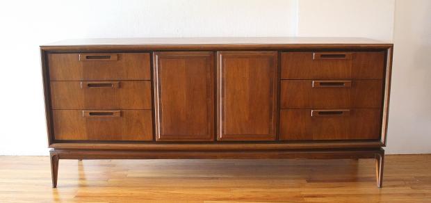 mcm low dresser credenza sculpted drawer pulls 1.JPG