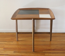 mcm square floating side end table 3