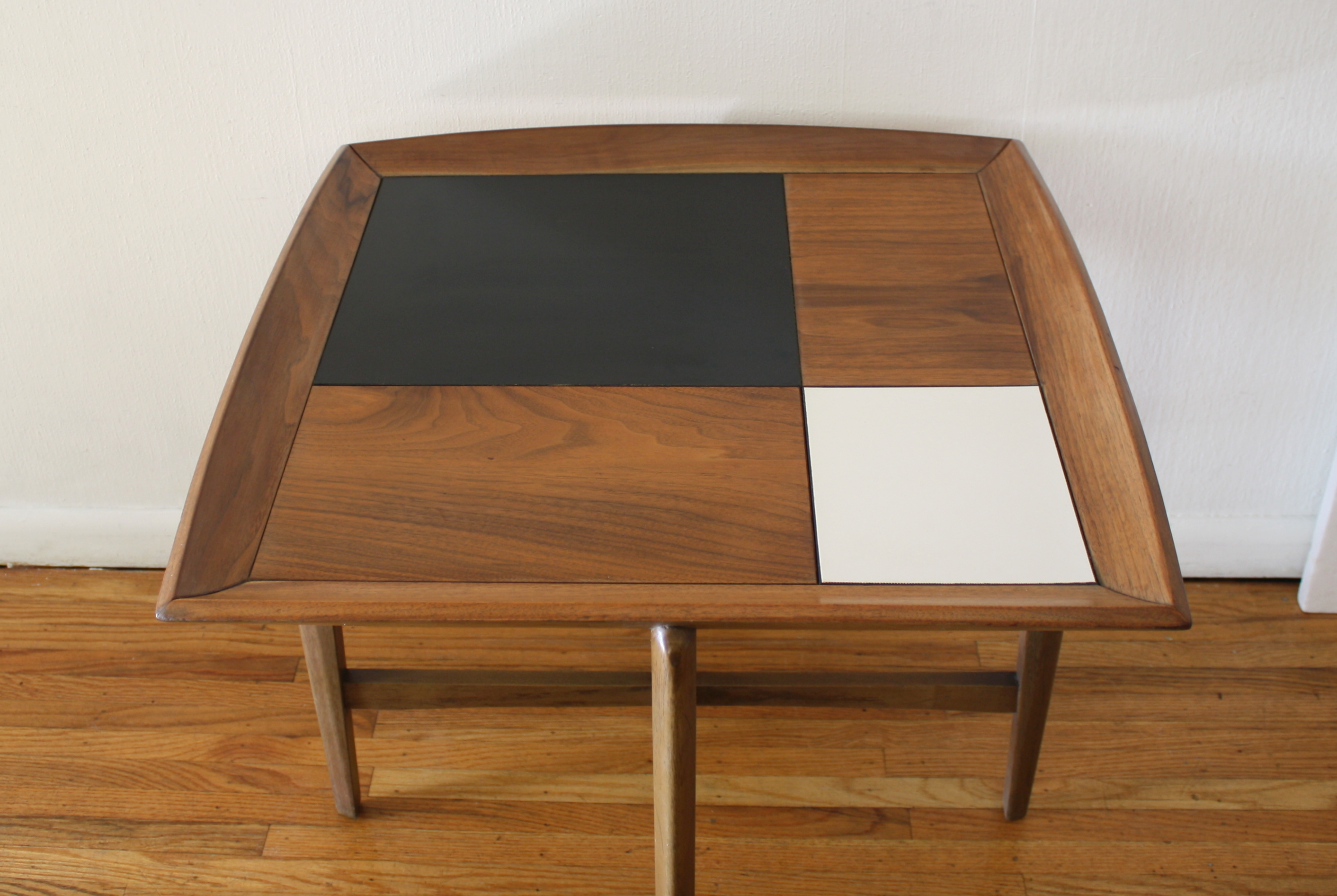 Mcm Square Floating Side End Table 4