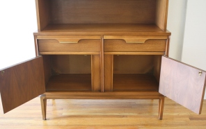 BasicWitz china cabinet hutch 5