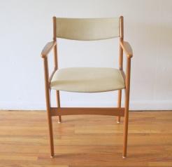 Danish teak arm chair 1