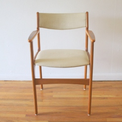 Danish teak arm chair 1