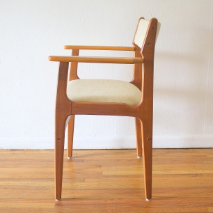 Danish teak arm chair 2