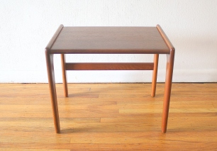 Danish teak side table 1