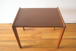 Danish teak side table 2