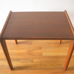 Danish teak side table 2