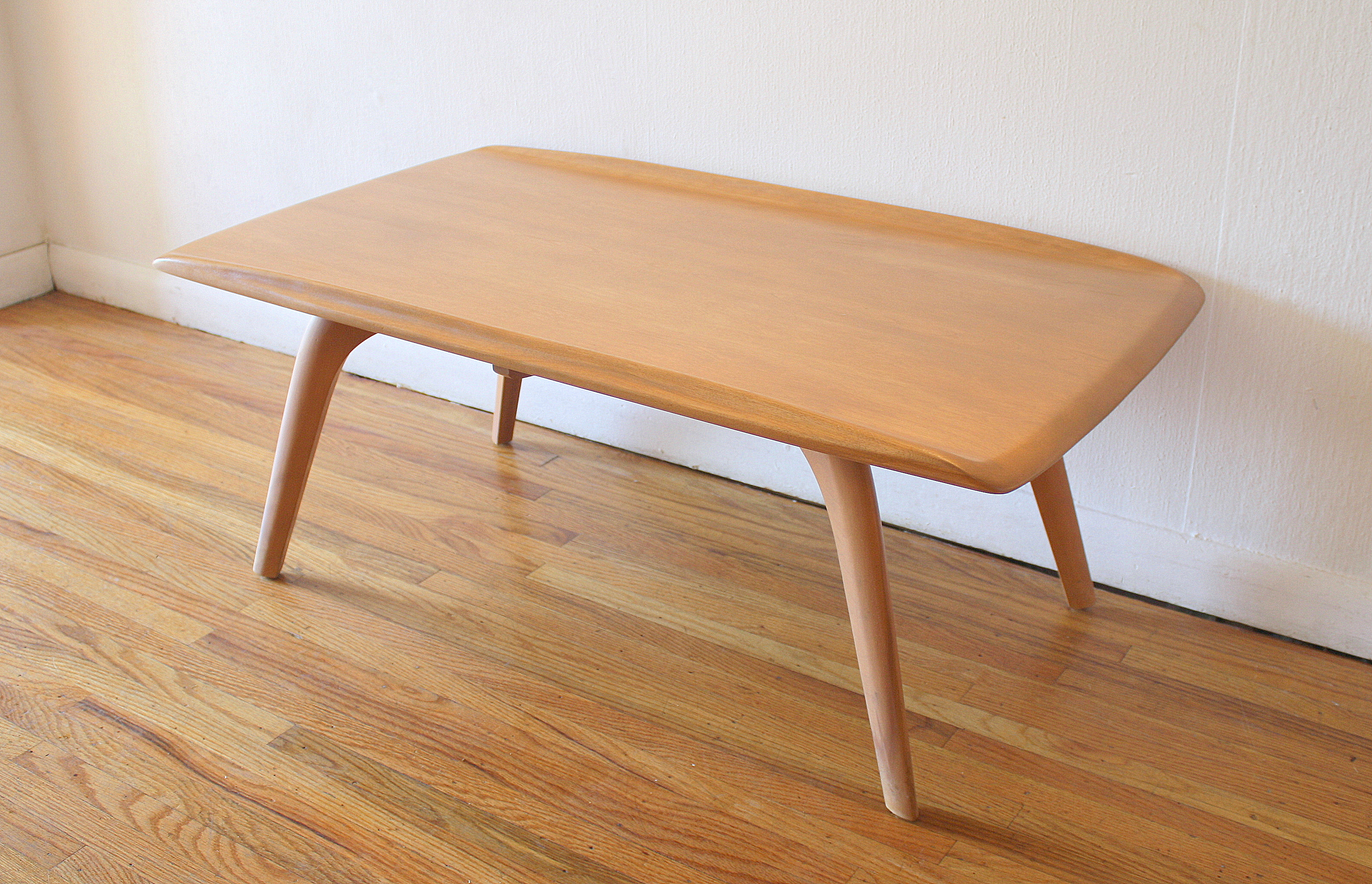 Mid Century Modern Heywood Wakefield Coffee Table Picked Vintage