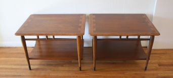 Lane Acclaim pair of side end tables 1