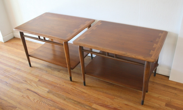 Lane Acclaim pair of side end tables 2