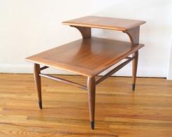 Lane acclaim single 2 tiered side table 1
