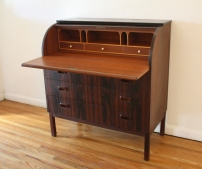 Swedish rosewood desk 4
