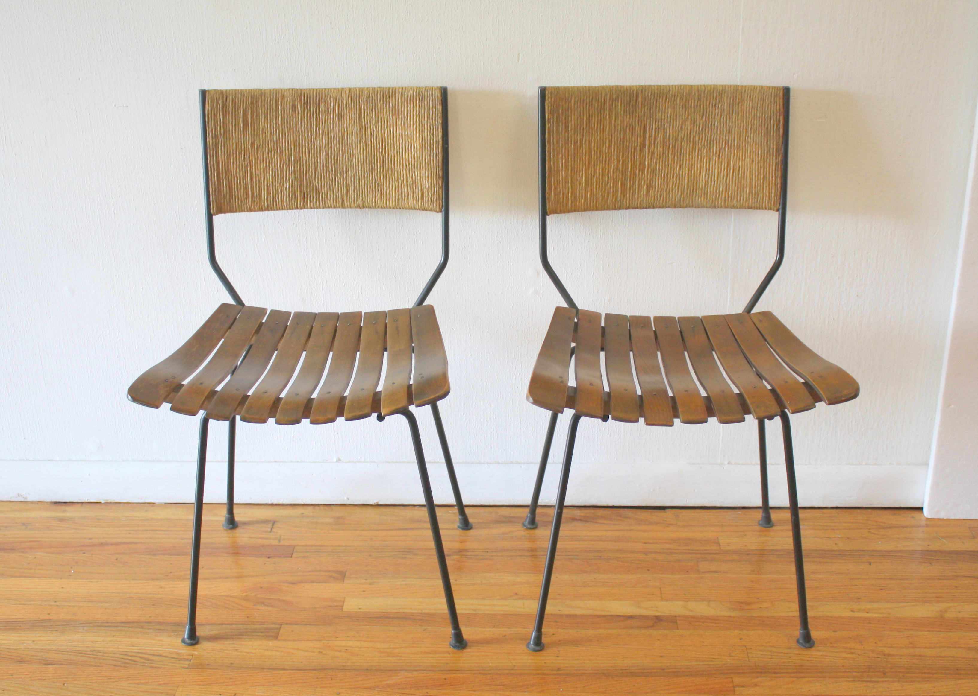 Arthur Umanoff pair of chairs 1.JPG