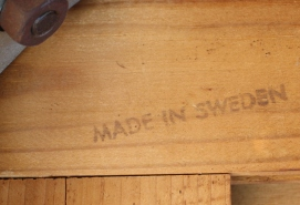 Swedish rosewood desk 1