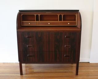 Swedish rosewood desk 2