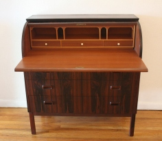 Swedish rosewood desk 3