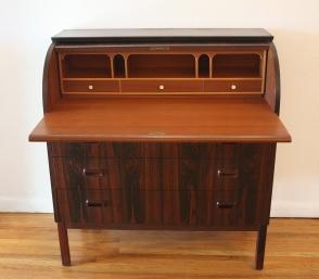 Swedish rosewood desk 3