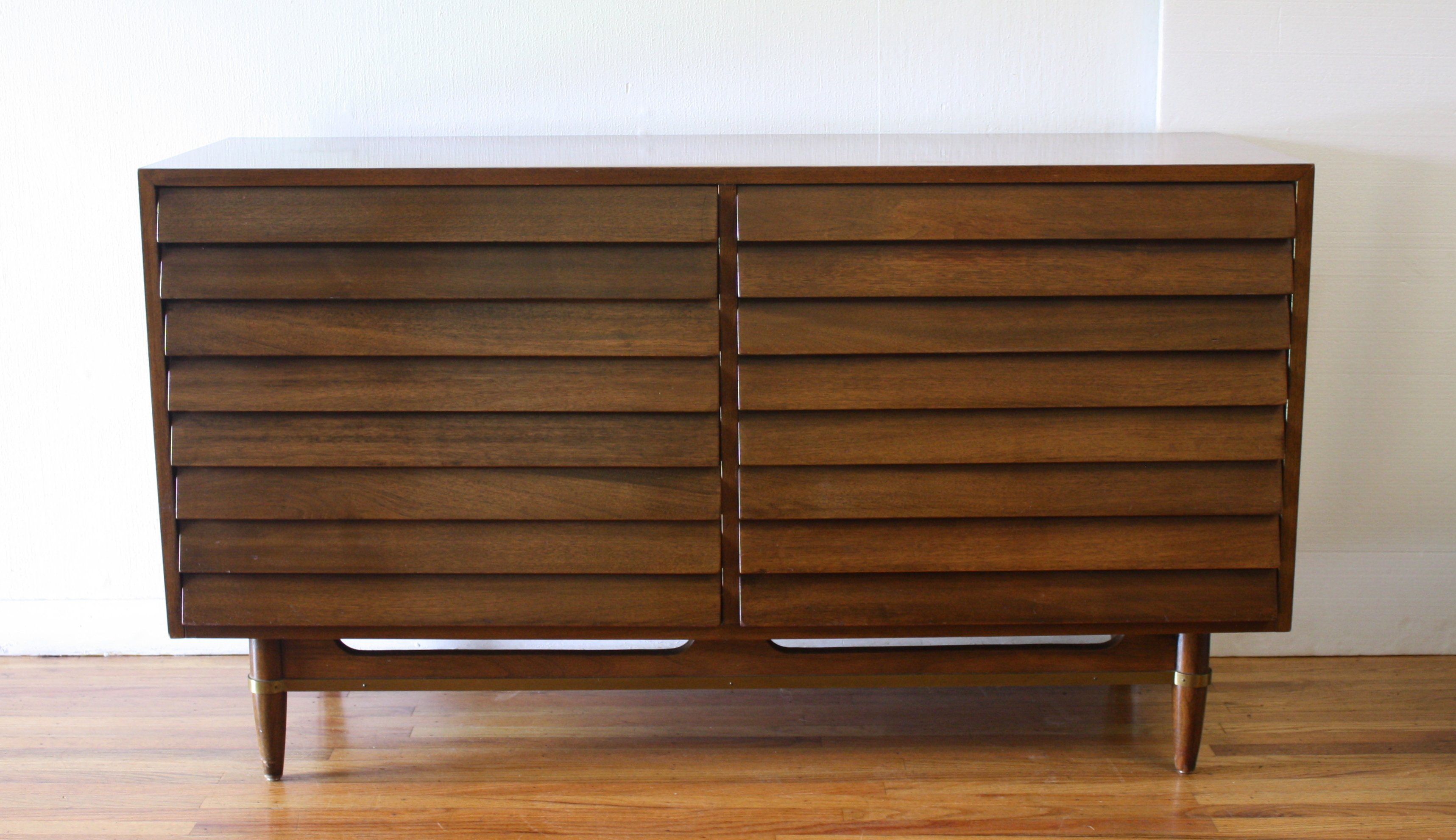 American by Martinsville Dania low dresser credenza 1.JPG