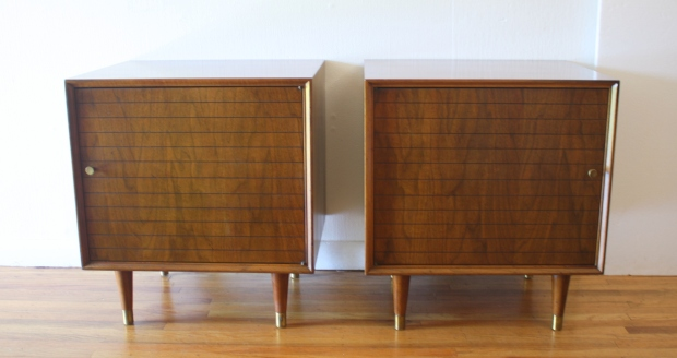 mcm pair of cube side end table nightstands 1.JPG