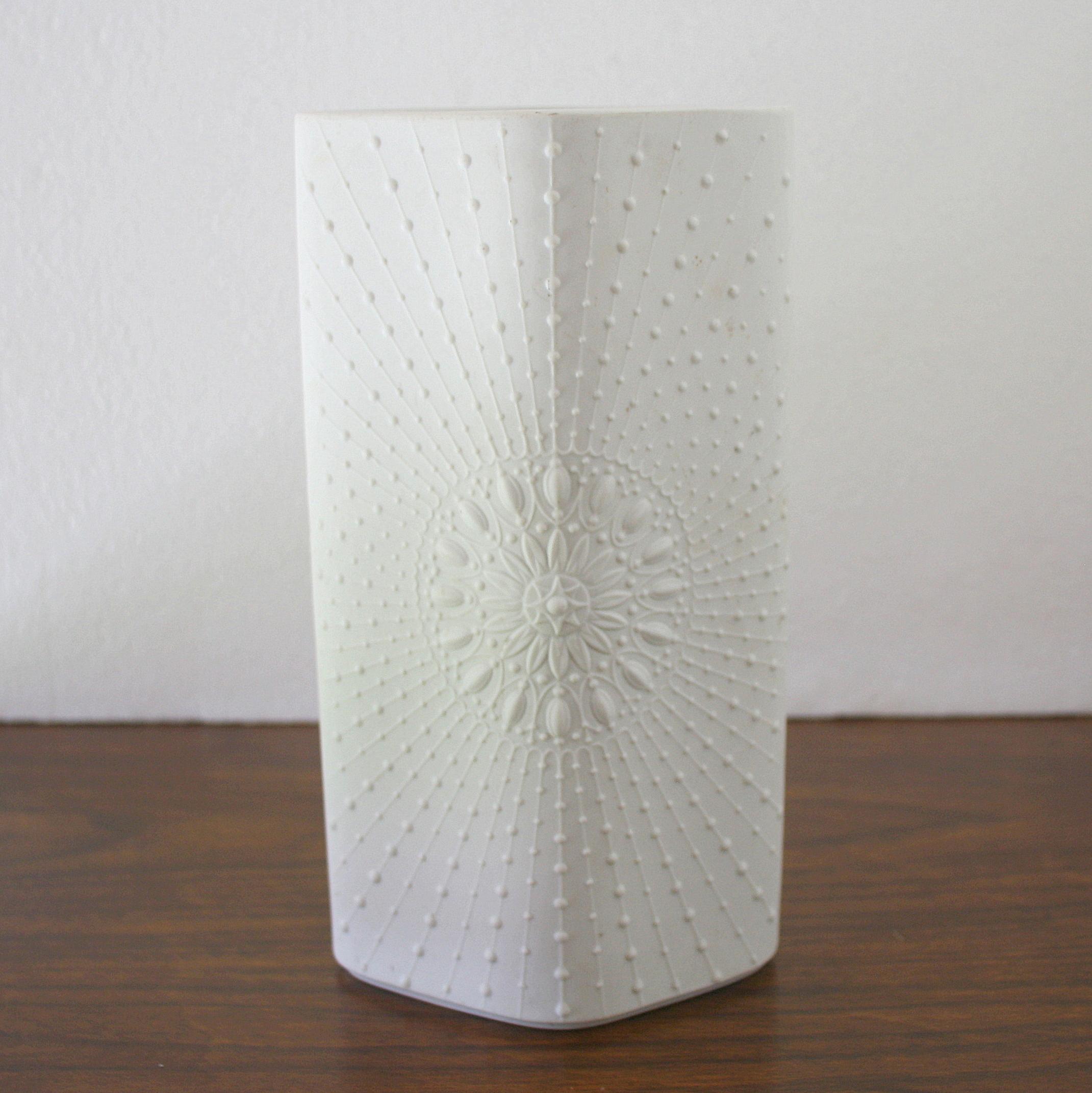 Krautheim Rosetta sunburst vase 1