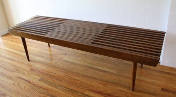 Mcm extending slatted coffee table bench 2.JPG