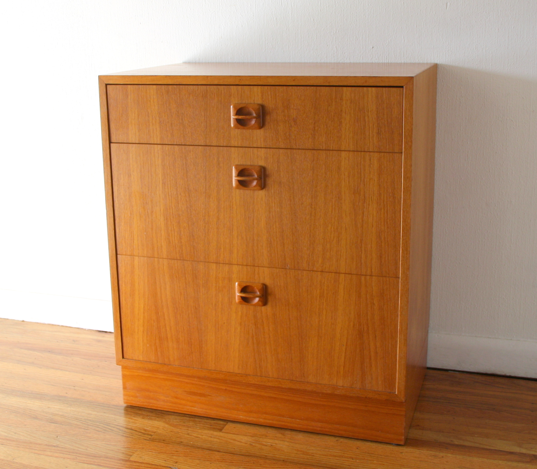 Danish teak mini dresser 1