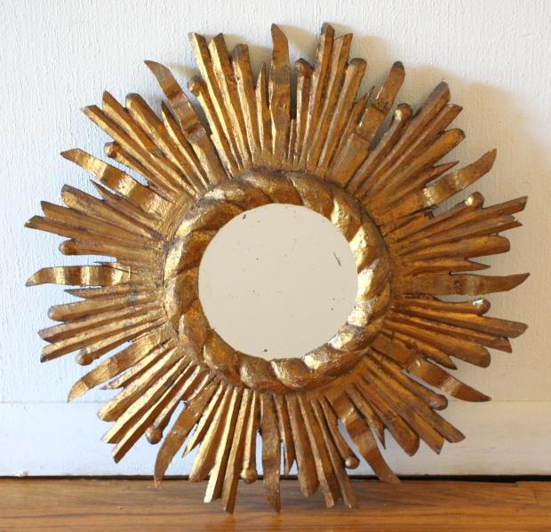 Mcm sunburst mirror