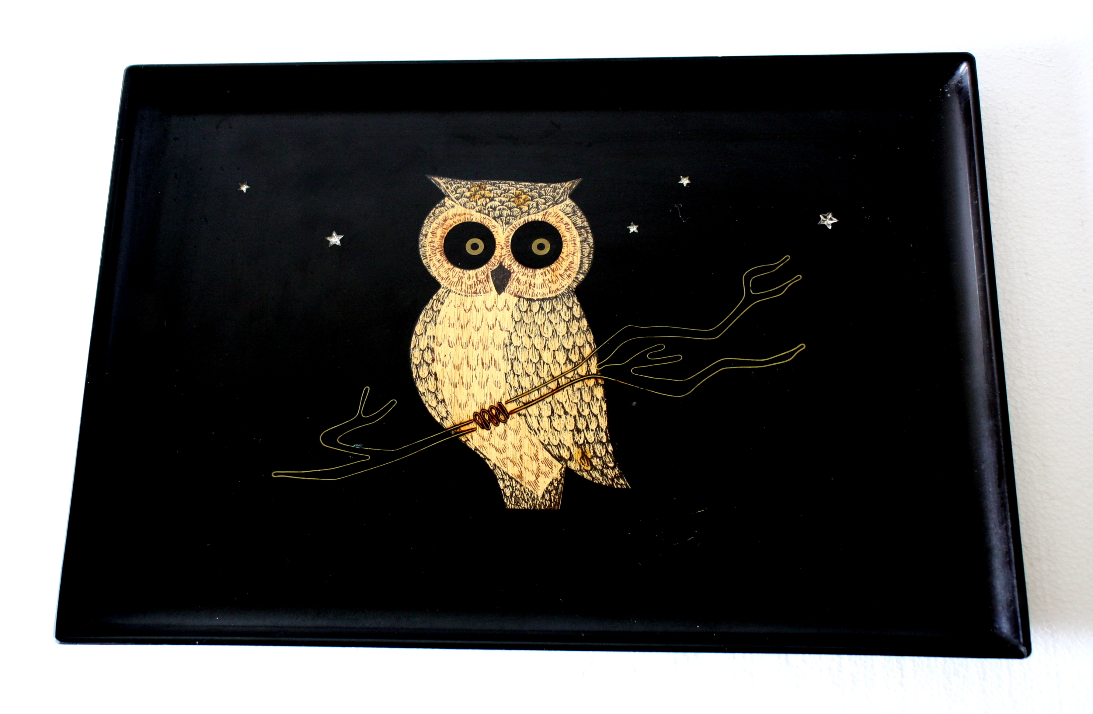 Couroc owl tray 1