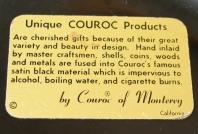 Couroc trays 1