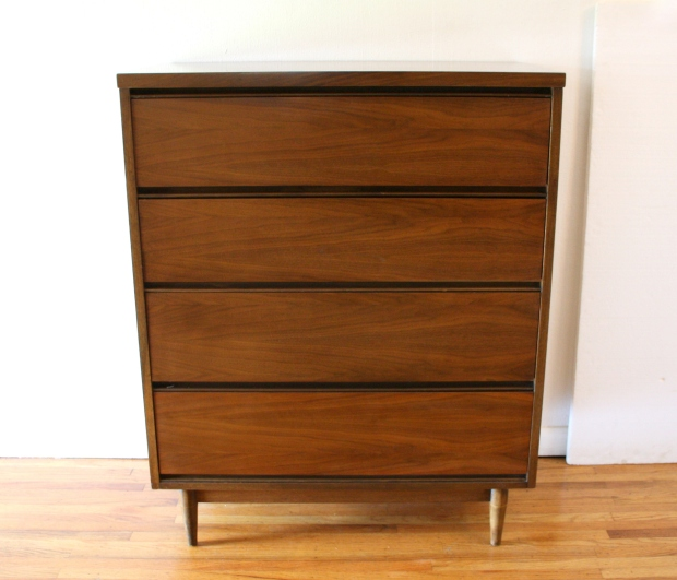 Mcm tall dresser streamlined design 1