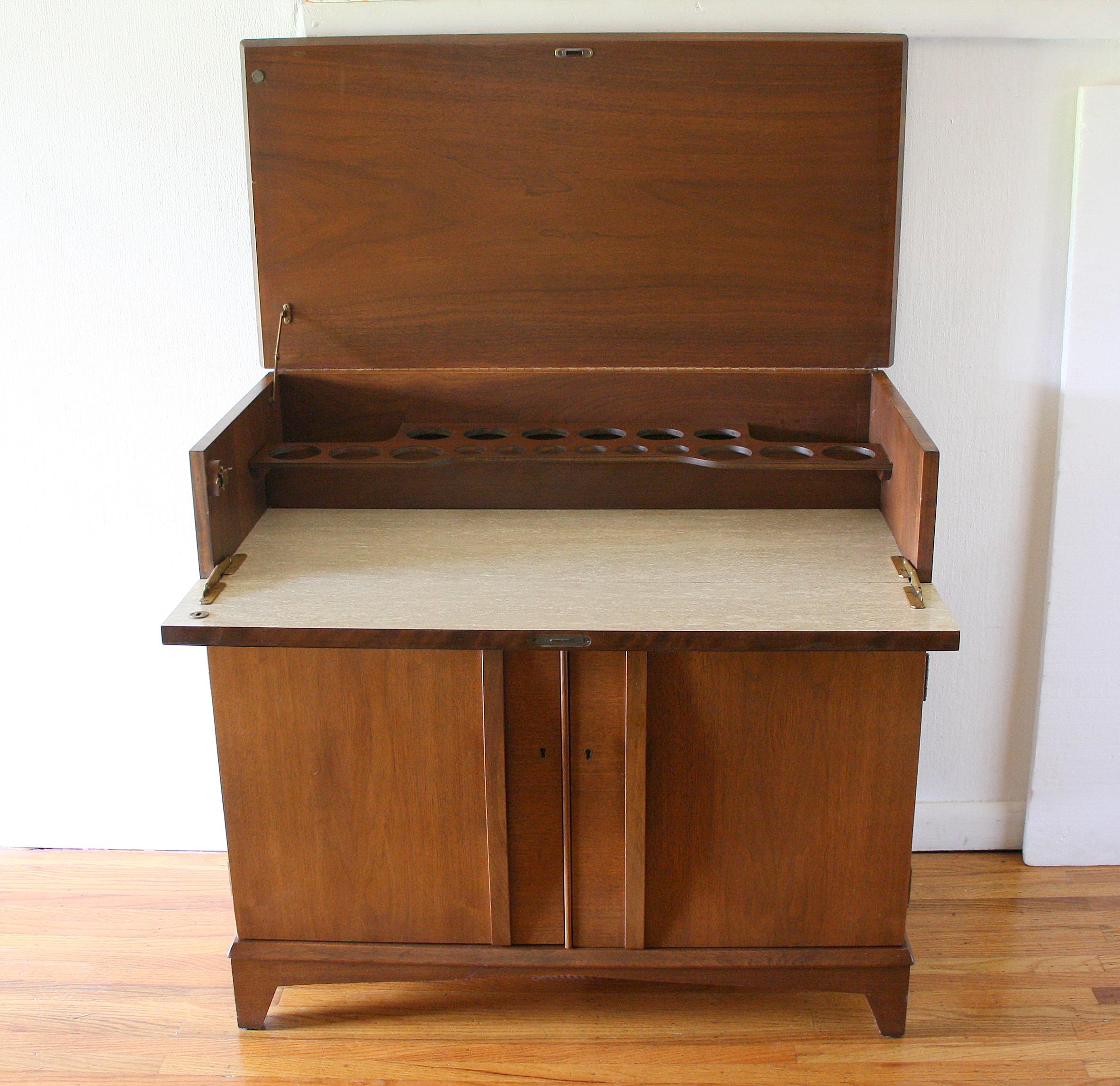 Mcm bar cabinet 2