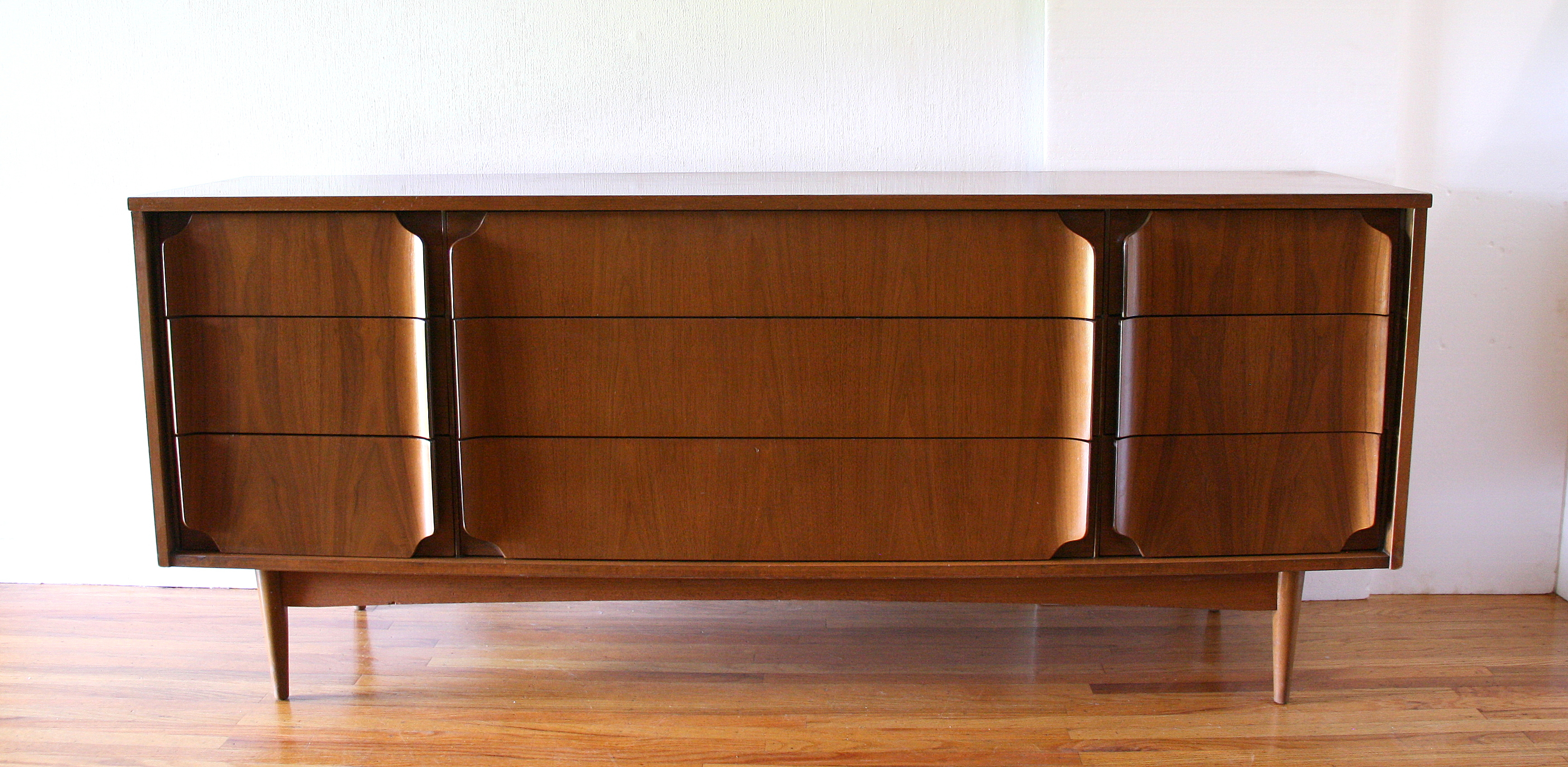 Mcm low dresser with curved pulls 1